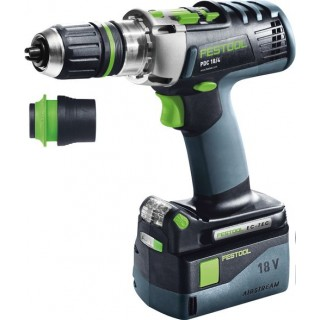 Perceuse-visseuse - FESTOOL PDC18 574702 - 18 V Li-ion - 5,2 Ah