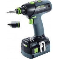 Perceuse-visseuse Festool sans fil T 18+3 Li5,2-Plus 574756 18V Li-ion