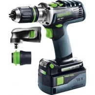 Perceuse-visseuse Festool DRC 18 Li Set 574697 - 18 V Li-ion - 5,2 Ah