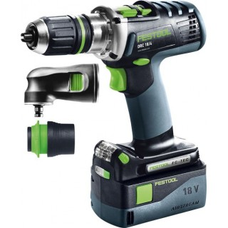 Perceuse-visseuse - FESTOOL DRC18 Set 574697 - 18 V Li-ion - 5,2 Ah