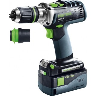 Perceuse-visseuse - FESTOOL DRC18 574696 - 18 V Li-ion - 5,2 Ah