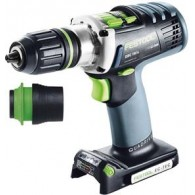 Perceuse-visseuse - FESTOOL DRC18 Basic 574695 - 18 V Li-ion - 5,2 Ah