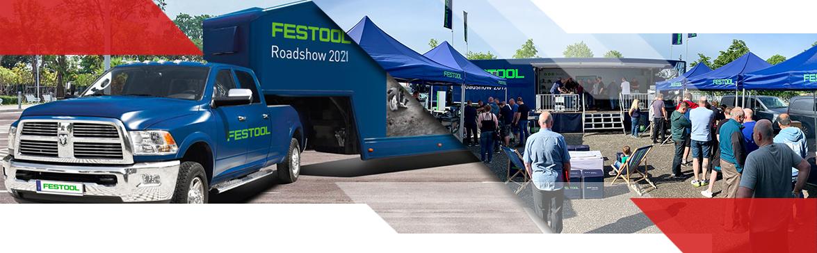 Festool Roadshow 2021 Gedimo