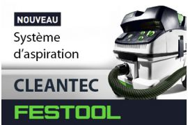 NOUVEAU SYSTEME D'ASPIRATION CLEANTEC CT 26 | 36 | 48 DE FESTOOL