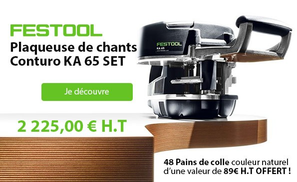 Plaqueuse de chants CONTURO KA 65 SET FESTOOL