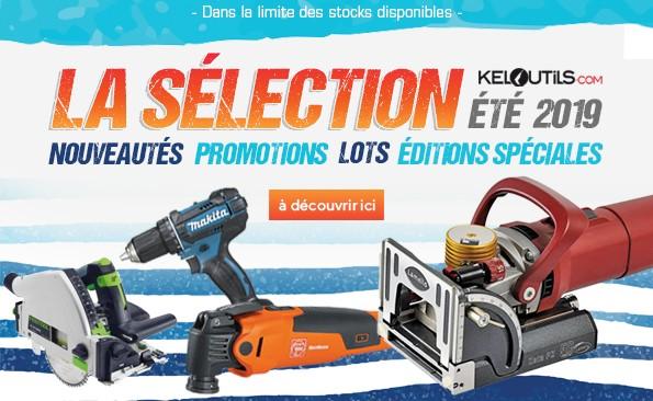 La sélection Keloutils été 2019