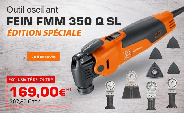 Outil oscillant FEIN FMM 350 Q SL Edition spéciale