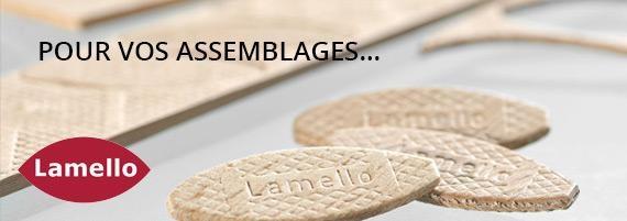 Assemblages Lamello