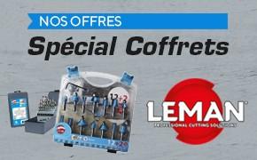 Offres spéciales coffrets LEMAN